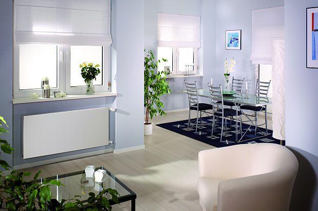 客厅安装暖气片怎么选位置,客厅暖气片装修效果图