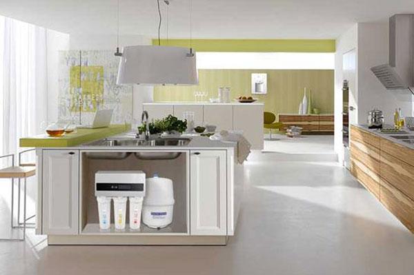 家用净水器四种不同孔径滤芯的作用
